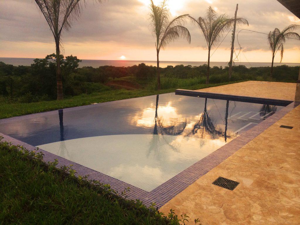Pool Model Home